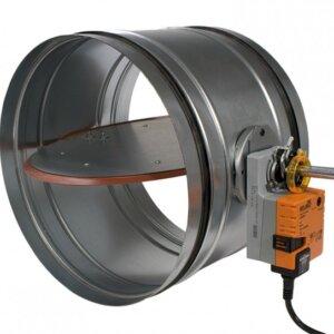 Zuluftklappe Ø315 mm elektrisch (Servomotor)