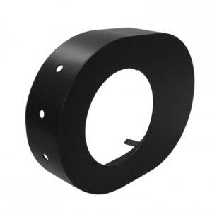 Rosette 130 mm schwarz Zubehör DS01