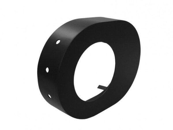Rosette 150 mm schwarz Zubehör DS01