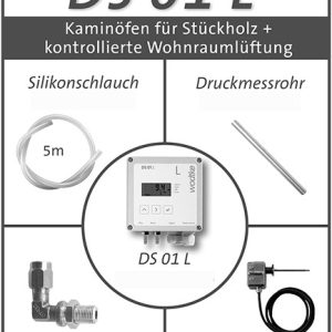 DS-01 L Comfort-Paket Lüftung + Kaminofen