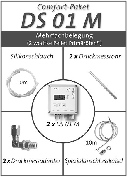 DS-01 M Comfort-Paket Mehrfachbelegung